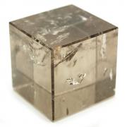 "Cube - Smokey Quartz Cubes ""Light"" (Brazil)"