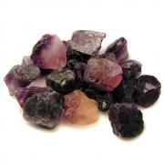 Fluorite - Purple Fluorite Chips/Chunks (China)