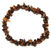 Bracelets - Golden Tiger Eye Single Strand Bracelet (India)