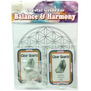 Crystal Grid Kit - All-Purpose Grid Kit w/Clear Quartz