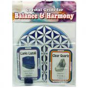 Crystal Grid Kit - Intuition Grid Kit w/Lapis Lazuli (7pcs.)