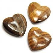 Hearts - Golden Tiger Eye Heart