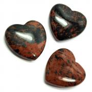 Hearts - Mahogany Obsidian Heart (China)