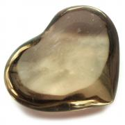 "Hearts - Smokey Quartz Heart ""Extra"" (Brazil)"