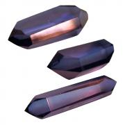 Indigo Aura Double Terminated Polished Points