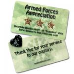 Mix - Armed Forces Appreciation (Heart w/Card) - 2pc. Set
