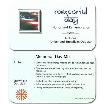 CLEARANCE - Mix - Tumbled Memorial Day Mix - 2 Piece Set w/Pouch