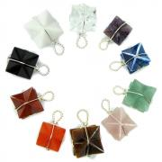 CLEARANCE - Chakra Merkaba (Wrapped) Pendant Sets (India)