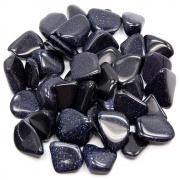 CLEARANCE - Tumbled Blue Goldstone (India)