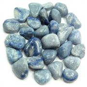 Tumbled Blue Quartz (Brazil) - Tumbled Stones