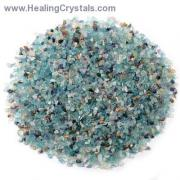 Tumbled Blue Topaz Mini Chips (India)