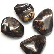 Tumbled Fire Agate (Mexico) - Tumbled Stones