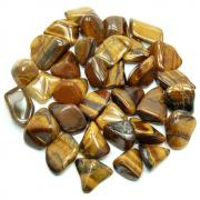 Tumbled Golden Tiger Eye (Africa) - Tumbled Stones