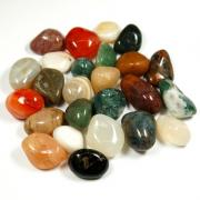 Wholesale - 25pc. Bags Natural Tumbled Stones