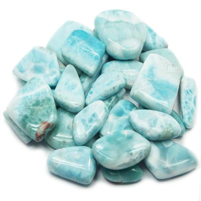 Tumbled Larimar (Dominican Republic) - Tumbled Stones