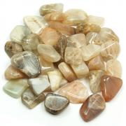 Tumbled Moonstone - Rough Tumbled Stones