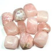 Tumbled Morganite (Pakistan) - Tumbled Stones