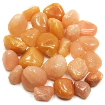 Tumbled Orange Aventurine (India) - Tumbled Stones