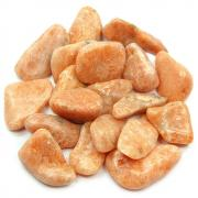 Tumbled Orange Calcite (Canada) - Tumbled Stones
