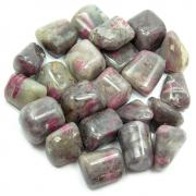 Tumbled Ruby in Feldspar (India) - Tumbled Stones