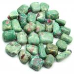 Tumbled Ruby in Fuchsite (India) - Tumbled Stones