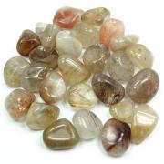Tumbled Rutilated Quartz (Brazil) - Tumbled Stones