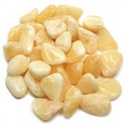 Tumbled Yellow Calcite (Brazil) - Tumbled Stones