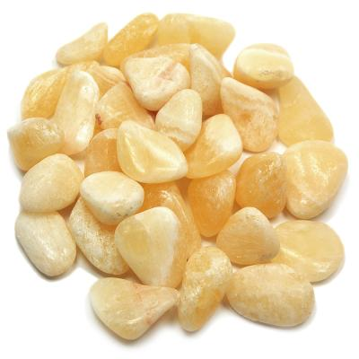 CLEARANCE - Tumbled Yellow Calcite (Brazil)