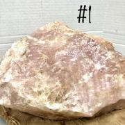 Rose Quartz - Rose Quartz Rough/Natural Specimens