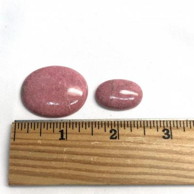 Cabochons - Thulite Cabochons