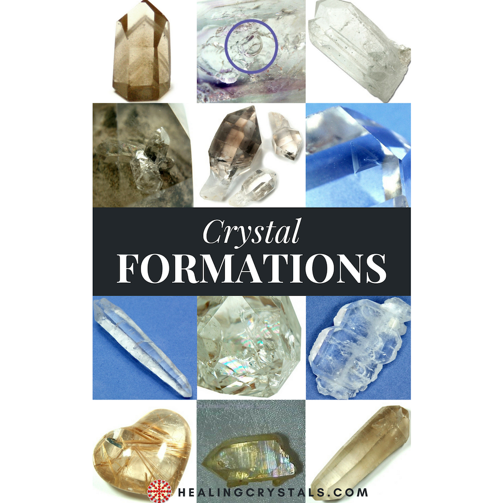 eBook - Healing Crystals Formations Guide