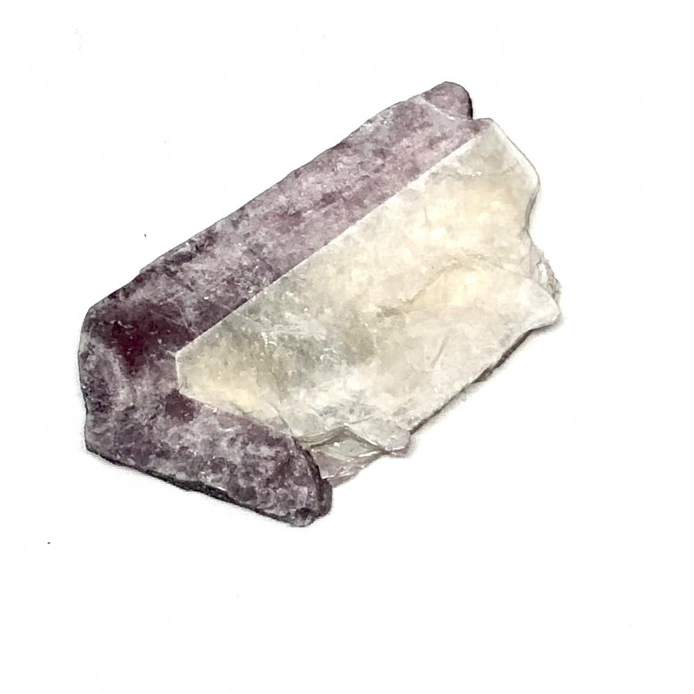 Zoned Bicolor Mica with Lepidolite