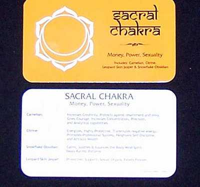 Chakra Set - Premium Sacral Assortment photo 3