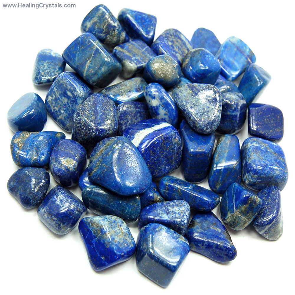 Tumbled Lapis Lazuli Stan Stones