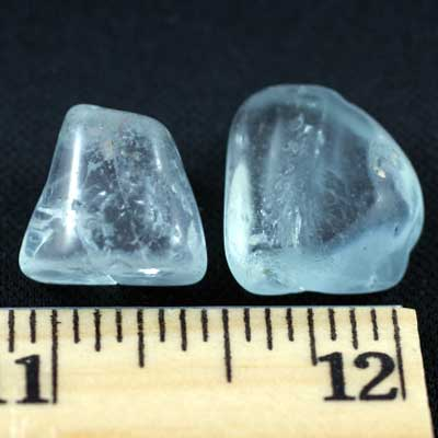 Tumbled Blue Topaz